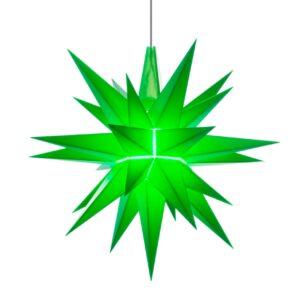 13 cm grøn – Plast med LED