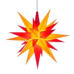 13 cm Rød/Gul – Plast med LED