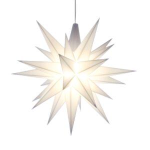 13 cm Hvid – Plast med LED