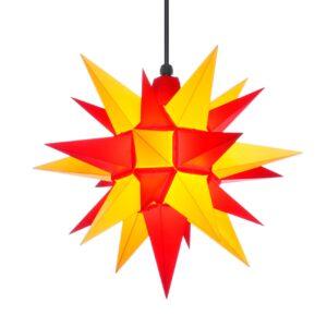 40 cm gul/rød – Plast