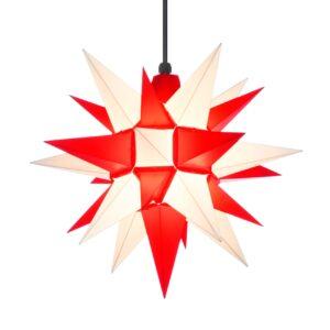40 cm rød/hvid – Plast