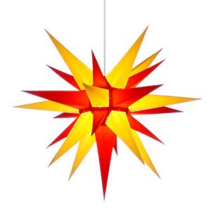 60 cm gul/rød – Papir