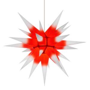60 cm hvid med rød kerne – Papir