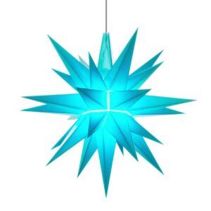 13 cm Turkis – Plast med LED