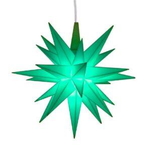 13 cm Mint – Plast med LED
